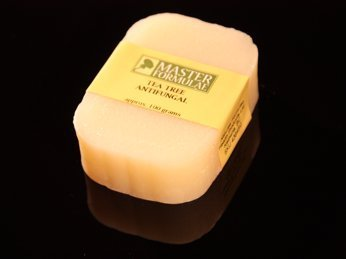 Tea tree oil soap for a simple jock itch cure.