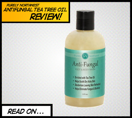 Purely Northwest Antibacterial soap with tea tree oil review