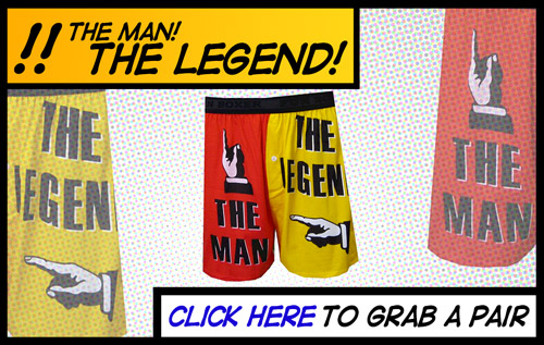 The Man, The Legend Underwear