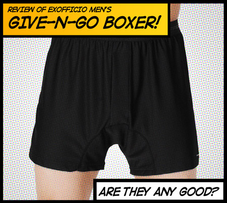 EXOFFICIO Give-n-go Boxer shorts