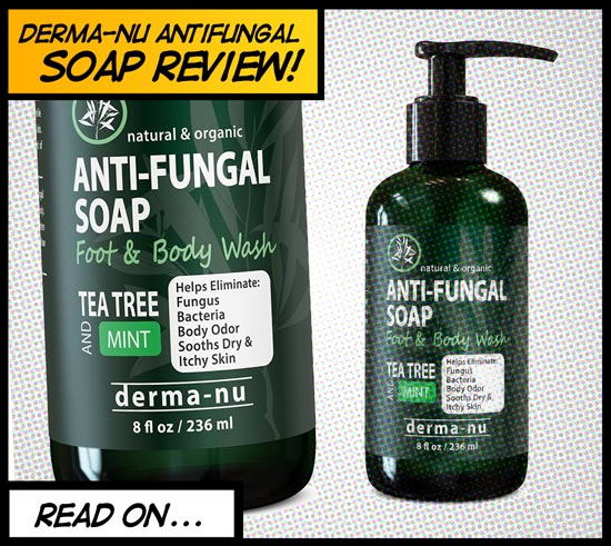 Derma-nu review of antifungal soap for jock itch