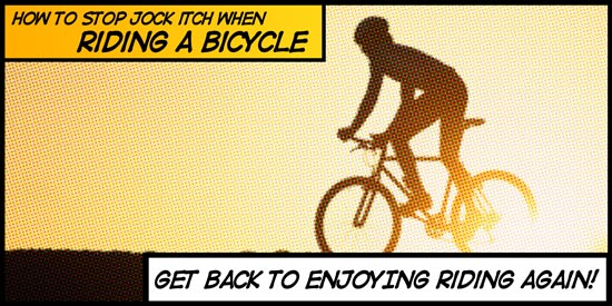How To Stop Jock Itch While Cycling on a Bicycle