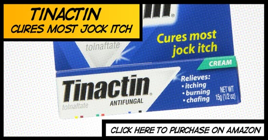 Tinactin Review for Jock Itch Sufferers