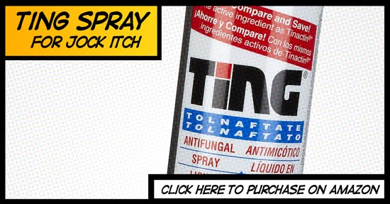 ting jock itch spray cures jock itch fast and with little effort