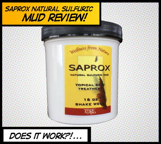 Saprox natural sulphuric mud review does it work?