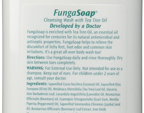 funga soap can cure skin irritation and itchiness